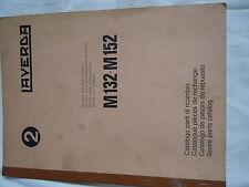 @Vintage Laverda M 132-152 (PERKINS 6.372) piezas del motor combinar libro @