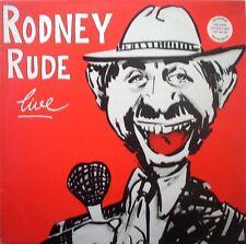 "RODNEY RUDE LIVE VINYL RECORDS LP 12"""