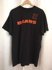 Reebok Chicago Bears 22 Forte Black T-shirt S/S Men's Sz XL 100% Cotton NFL