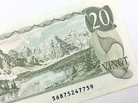 1979 Canada 20 Dollar Twenty Dollar Uncirculated 568 Thiessen Crow Banknote R368