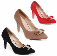 Unbranded Faux Suede Evening & Party Court Heels for Women