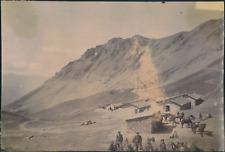 France, Exercice Militaire, Camp en montagne d'un régiment de chasseurs Alp
