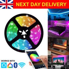 RGB LED STRIP LIGHT - COLOUR CHANGING - WIFI/BLUETOOTH
