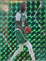 2019-20 Mosaic Tacko Fall Green Prizm #244 Boston Celtics Rookie card