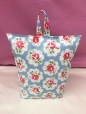 Handmade butoir pour portes en Utilisant Cath Kidston Provence Rose Bleu Pétrole Chiffon-rempli NEUF
