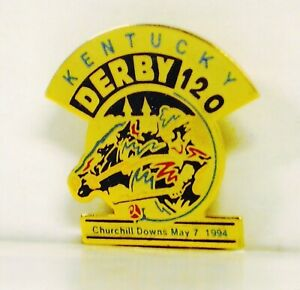 1994 - 120th Kentucky Derby Official Lapel Pin - MINT