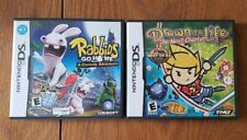 Drawn to Life: The Next Chapter Nintendo DS Rabbids Go Home Comedy Game Lot