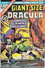 Giant-Size Dracula Comic Book #4, Marvel Comics 1975 VERY FINE