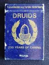 DRUIDS HEALTH BENEFITS 200 YEARS OF CARING 407 SWANSTON ST 3472635 MATCHBOOK