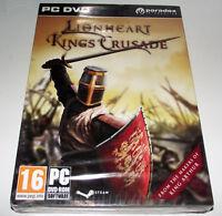 Lionheart King's Crusade *Sealed* PC DVD
