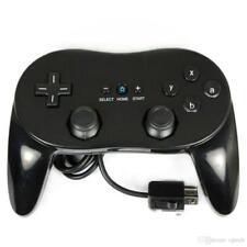 Manette contrôleur Classic Pro pour Nintendo Wii, Wii U - 1,20 m – Noir