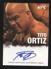 2010 Topps TITO ORTIZ auto autograph UFC