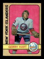 1972 O-Pee-Chee #139 Gerry Hart  NM/NM+ X1691887