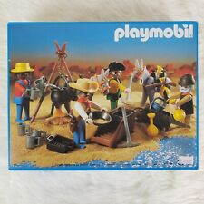 *NEW IN BOX* SEALED Vintage Playmobil Western Gold Miners 3747 Gold Hunters RARE