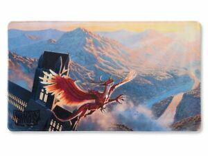 "Dragon Shield Playmat Crimson Measures 24"" x 13 3/4"" x 3/32"" New"