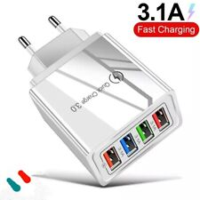 ❇Caricabatterie  Quick Charge 3.0 4 porte USB Ricarica Veloce