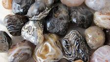 *THREE* Oco Ocho OCCO WHOLE Mini Geode Tumbled Stone 25mm Healing Crystal Brazil