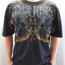 ECKO UNLTD Legendary MMA Mens Black T Shirt Size LARGE NWT