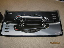 "Pontiac G6 Hard Top Convertible 14 x 28"" Promo Poster Advertising 2006 2007 2008"