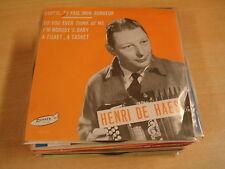 ACCORDEON 45T SINGLE RONNEX RECORDS / HENRI DE HAES - CHERIE TU FAIS MON BONHEUR