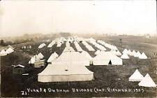 Richmond. Yorks. & Durham Brigade Camp 1909 # J.1.