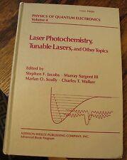 Laser Photochemistry TUNABLE LASERS Physics of Quantum Electronics V4 1976 RARE