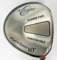 PureSpin Tungsten Diamond Face 10* 1 Wood Composite Shaft Pure Spin Grip