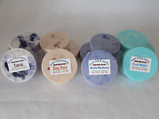 "Handmade Moisturizing Goat Milk & Honey Bar Shave Soap U Choose Fragrance 3"" 4oz"