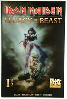 Iron Maiden Legacy of the Beast 1 B Casas Variant  2017 Heavy Metal