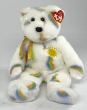 """TY BEANIE BABY~ CHEERY THE SUNSHINE BEAR ~ 14"""" Beanie Buddy 2002 MINT+TAGS"""