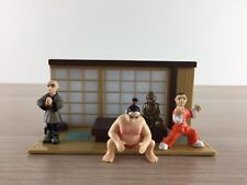 Micro Icons: Kung Fu Masters series 1 Sushi Diner & 3 figures Mega Pack VGC