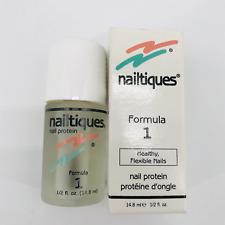 Nailtiques Formula 1 / Nail Protein NIB / 1/2 fl.oz / 14.8 ml NEW