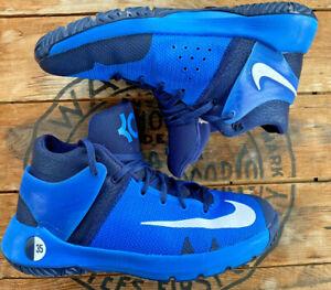 Nike KD Trey 5 Youth size 7 Royal Blue Basketball shoes 853765-484