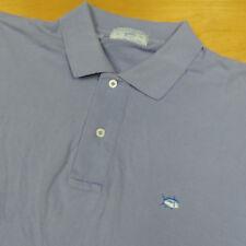 SOUTHERN TIDE Lavender Purple Stetch Cotton SKIPJACK Pique Polo S/S Shirt XL 42