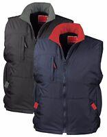 Ripstop Windproof Sports Gilet Bodywarmer Vest Sleeveless Jacket BLACK or BLUE