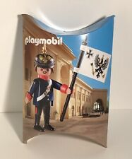 Playmobil 30794863 Prussian Soldier Rare Figure New In Pillow Box 2015