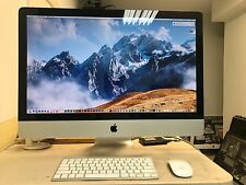 "IMAC 27"" DESKTOP (MID 2011), I7 3.4GHZ , 1T HD, 250G SSD, 16G RAM, GOOD WORKING"