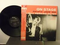 "The Bill Perkins Octet,Pac.Jazz 1221,""On Stage"",Japan,LP,mono,OBI/insert, Mint"