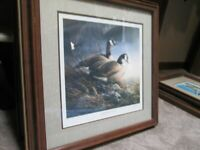 Terry Redlin Rare Signed Geese Series 4 Signed Framed Prints All Ser. # 99/960