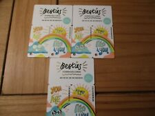 """3 Starbucks gift cards  """"BESTIES""""  MINT never used.  Free Shipping"""