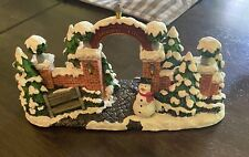 """""""Norman Rockwell's Christmas Village"""" Gate"""