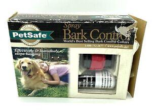 PetSafe Lemon Spray Bark Control Dog Collar S,M,L,XL Adjustable Premium PSBC-300