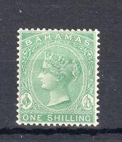 Bahamas 1863-80 1s green MLH