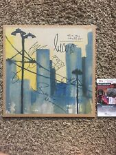 LUCERO SIGNED AUTOGRAPH ALL A MAN SHOULD DO VINYL RECORD BEN NICHOLS +4 JSA COA
