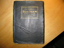 Sumbeam 14/40 hp  Operation Manual (Handbook) Publisted March 1925.