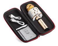 Mockins Wireless Bluetooth KARAOKE Microphone, Gold, Holiday Gift