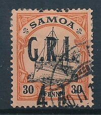 [55134] Samoa Occupation 1914 good Used Very Fine signed stamp
