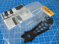 New Blade Racing Product 98mm BL160 Clear Body unpaint with carbon fiber chassis