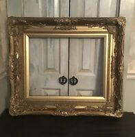 """Beautiful Large French Style Ornate Picture Frame. 29.5"""" Wide. 25.5"""" Tall."""