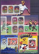 El fútbol WM 1982-corea-lot ** mnh (02)!